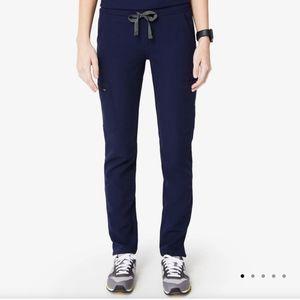 FIGS Navy YOLA scrub pants